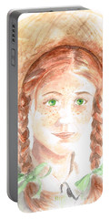 Anne Of Green Gables Portable Battery Charger