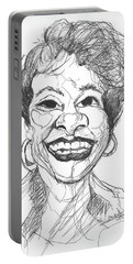 Annette Caricature Portable Battery Charger