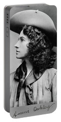 Annie Oakley Profile Portable Battery Charger