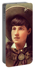 Annie Oakley, Sharpshooter Portable Battery Charger