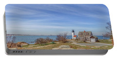 Annisquam Harbor Lighthouse Portable Battery Charger