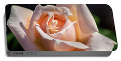 Another Beautiful Pink Rose Portable Battery Charger