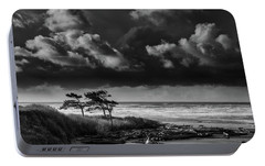 Portable Battery Charger featuring the photograph Another Day At Kalaloch Beach by Dan Mihai
