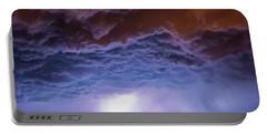 Another Impressive Nebraska Night Thunderstorm 007 Portable Battery Charger