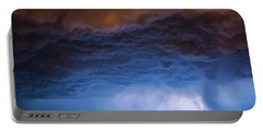 Another Impressive Nebraska Night Thunderstorm 008/ Portable Battery Charger