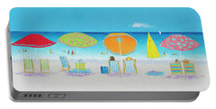 Another Perfect Beach Day Portable Battery Charger