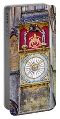 Anotomical Clock At Wells, Uk Portable Battery Charger