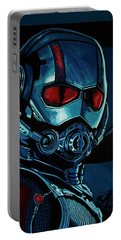 Ant Man Painting Portable Battery Charger