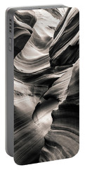 Antelope Canyon Bw Portable Battery Charger