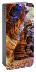 Antelope Canyon Portable Battery Charger by Dominic Piperata