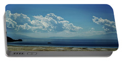 Antelope Island, Utah Portable Battery Charger by Cynthia Powell