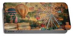 Antique Ferris Wheel Walt Disney World Mp Portable Battery Charger