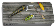 Antique Fishing Lures Portable Battery Charger