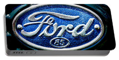 Antique Ford Badge Portable Battery Charger