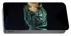Antique Glass Bottle Portable Battery Charger by David French