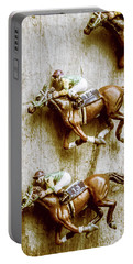Antique Photo Finish Portable Battery Charger