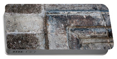 Portable Battery Charger featuring the photograph Antique Stone Wall Detail by Elena Elisseeva