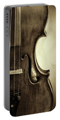 Antique Violin 1732.34 Portable Battery Charger