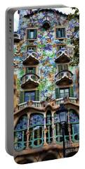 Antoni Gaudi's Casa Batllo Barcelona Spain  Portable Battery Charger