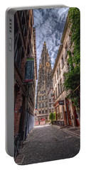 Antwerp Cathedral Portable Battery Charger