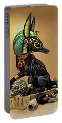 Anubis Egyptian God Portable Battery Charger