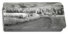 Any Road Can Take You There Portable Battery Charger by John Rivera