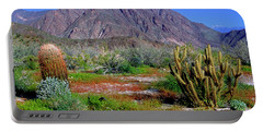 Anza-borrego Desert State Park Ca Portable Battery Charger
