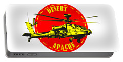 Apache On Desert Portable Battery Charger