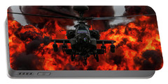 Apache Wall Of Fire Portable Battery Charger