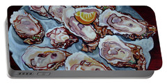 Apalachicola Fresh Portable Battery Charger by Susan Duda