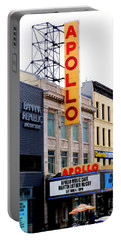 Apollo Theater Portable Battery Charger by Randall Weidner
