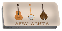 Appalachia Music Portable Battery Charger by Heather Applegate