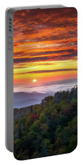 Appalachian Mountains Asheville North Carolina Blue Ridge Parkway Nc Scenic Landscape Portable Battery Charger