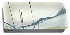 Portable Battery Charger featuring the digital art Appalachian Spring by Gina Harrison
