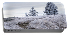Portable Battery Charger featuring the photograph Appalachian Trail Winter Hike by Serge Skiba