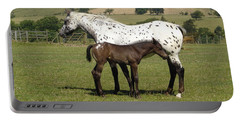 Appaloosa Mare And Foal Portable Battery Charger