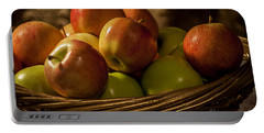 Apple Basket Portable Battery Charger