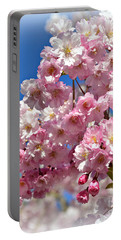 Portable Battery Charger featuring the photograph Apple Blossom Special by Miriam Danar
