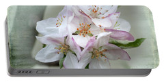 Apple Blossoms From My Hepburn Garden Portable Battery Charger