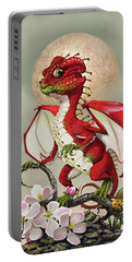 Apple Dragon Portable Battery Charger by Stanley Morrison