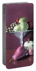 Apple  Pears And Grapes Portable Battery Charger