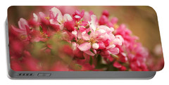 Apple Tree Flowers In Spring Portable Battery Charger