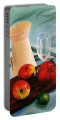 Apples, Lime And Capsicum Portable Battery Charger