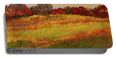 Portable Battery Charger featuring the photograph Approaching Magpie Forest by David Patterson