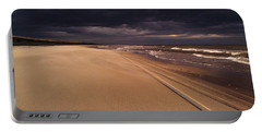 Portable Battery Charger featuring the photograph Approaching Storm by Liza Eckardt