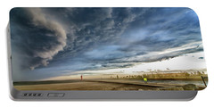 Portable Battery Charger featuring the photograph Approaching Storm by Steven Santamour