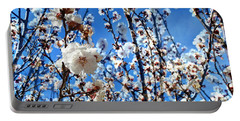 Portable Battery Charger featuring the photograph Apricot Blossoms by Glenn McCarthy Art and Photography