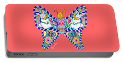 April Butterfly Portable Battery Charger