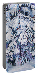 April Snow Portable Battery Charger