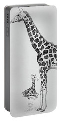 April The Giraffe Portable Battery Charger